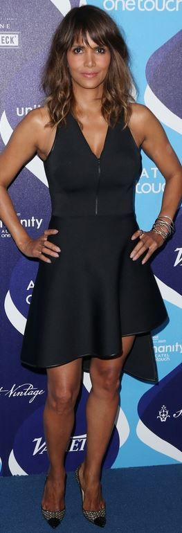 Halle Berry: Dress – David Koma  Jewelry – Antonini and Nasrin Imani