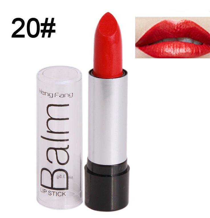 Wholesalers 2016 1Pcs Waterproof Matte Lipstick Make Up Natural Long Lasting Lip Stick Moisturizer Red Nude Batom Lips Cosmetics