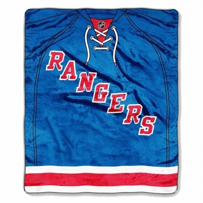 "New York Rangers Throw Blanket NHL Soft Raschel Plush Team Jersey Logo 50"" x 60"" #Northwest #NewYorkRangers"