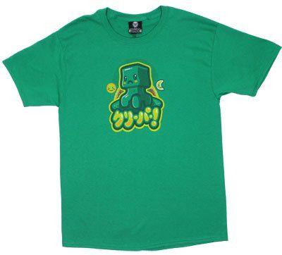 Kawaii Minecraft T Shirt