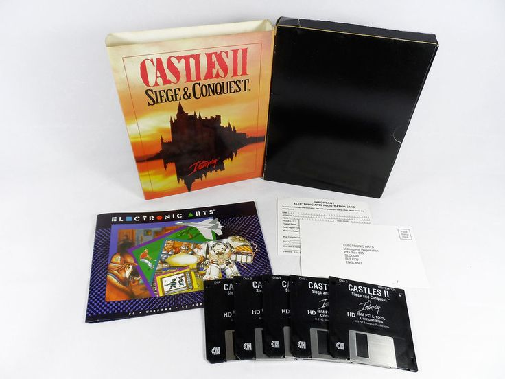 Castles II: Siege & Conquest for PC by Interplay Entertainment, 1992, Fantasy
