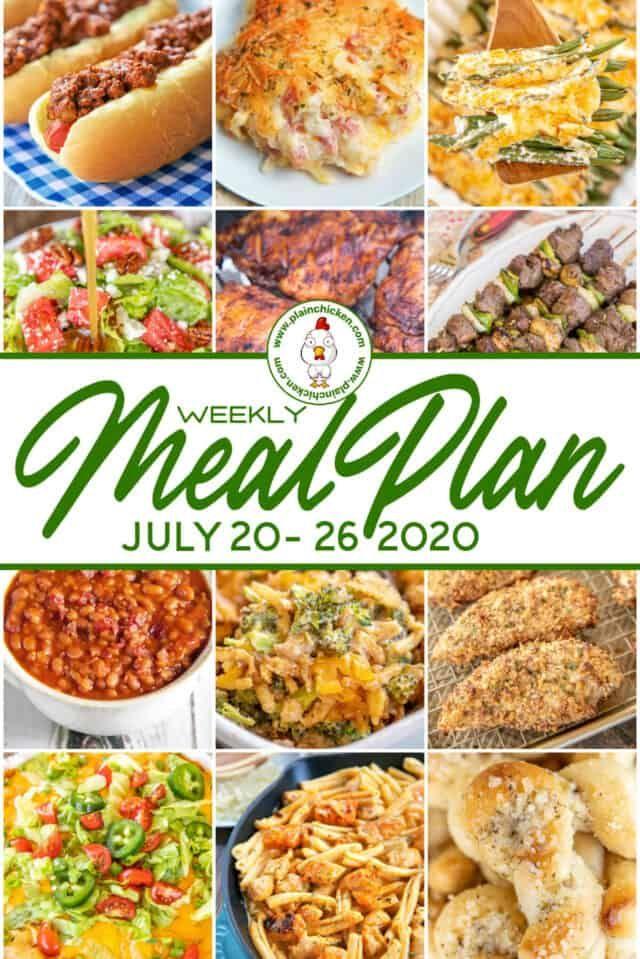 Chicken Fajitas Plain Chicken Week Meal Plan Meals For The Week Plain Chicken Recipe