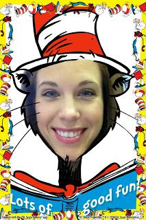 Seuss Cam - Great iPhone app. There is also a Grinch one. Fun for Read Across America! Too bad I can't seem to find it for android.