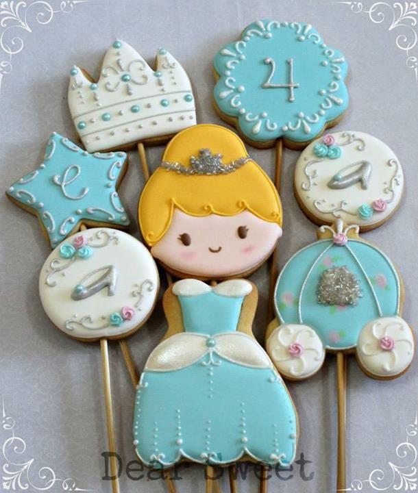 Cinderella cenicienta galletas cuentos