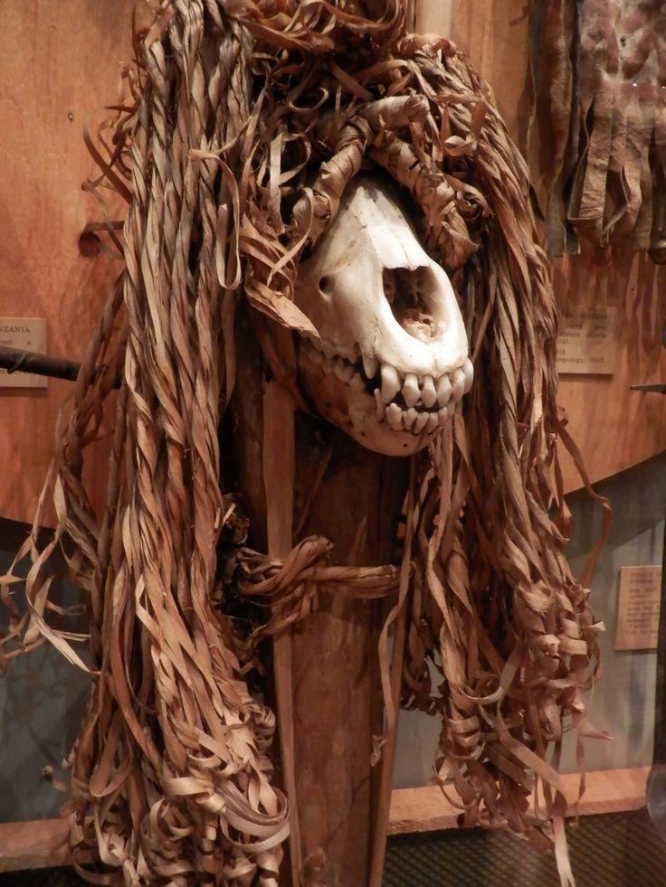 cool tribal skull- Pitt Rivers