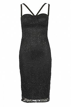 sexy βραδινό lbd glittery δαντέλα  29,80 €