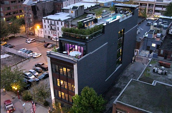 The Keefer in Vancouver.... awesome development... this penthouses pool has a glass bottom......see next pin ;-) Have loved this place for a couple of years now... just need much deeper pockets! vancouver-penthouse