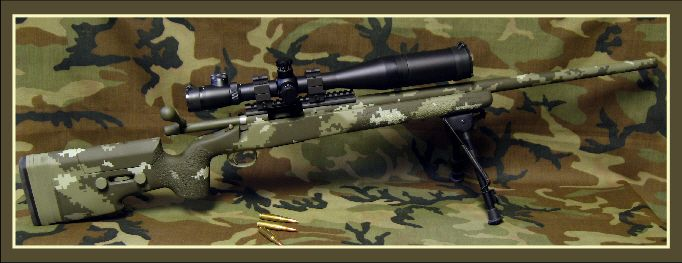 Gruning Precision: tactical rifles, Remington 700, M1A ... M14 Tactical Sniper Rifle