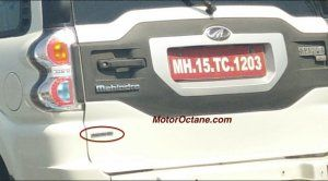 New Mahindra Scorpio Automatic Model Spied Testing- Launch Soon? http://www.carblogindia.com/new-scorpio-automatic-model-spied-testing-launch-soon/