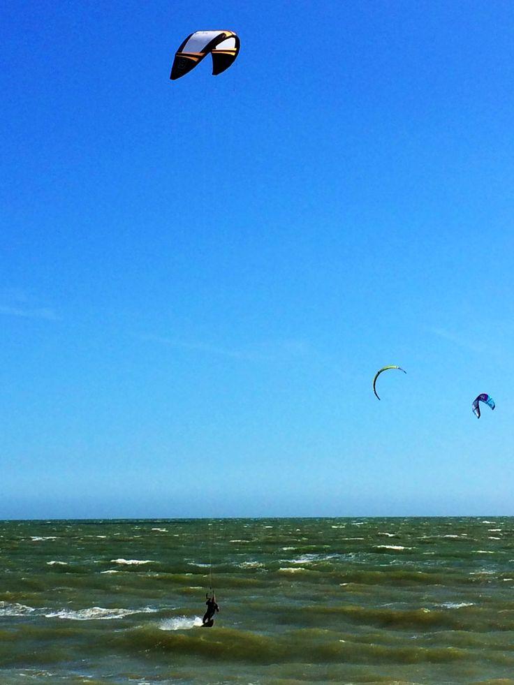 Folkestone, kitesurfing