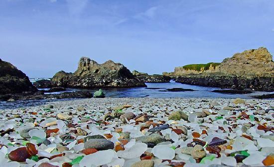 Glass Beach, Califórnia(EUA)