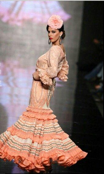 Bonito traje de flamenca