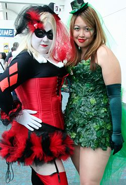 plus sized Harley Quinn and Poison Ivy