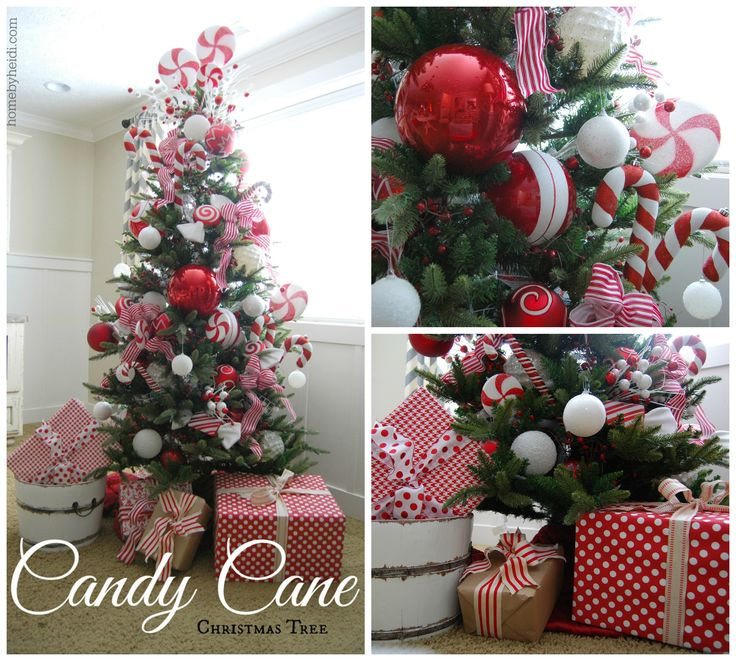 Candy Cane Christmas tree (Home By Heidi)