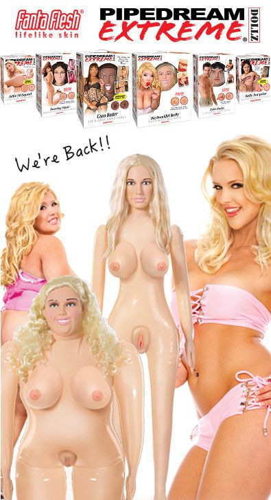 """""""You wouldn't believe how many e-mails we get everyday from fans waiting for our high-end inflatable dolls to come back in stock,"""" said VP of Development Rob Phaneuf.  http://www.pipedreamblogger.com/wordpress/2014/04/08/pipedream-blows-up-with-pipedream-extreme-dollz/"""