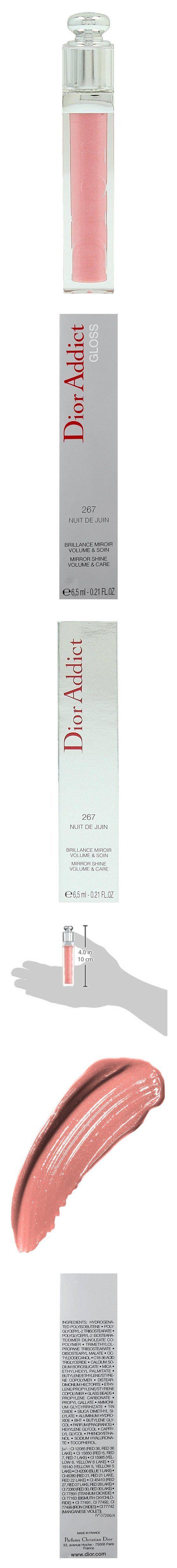 Christian Dior Addict Lip Gloss for Women, # 267 Nuit Juin #beauty #christiandior