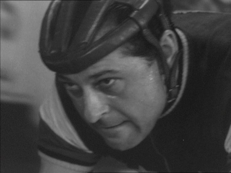 som cykelrytter Ivan Reimer, i  6-dagesløbet fra 1958.
