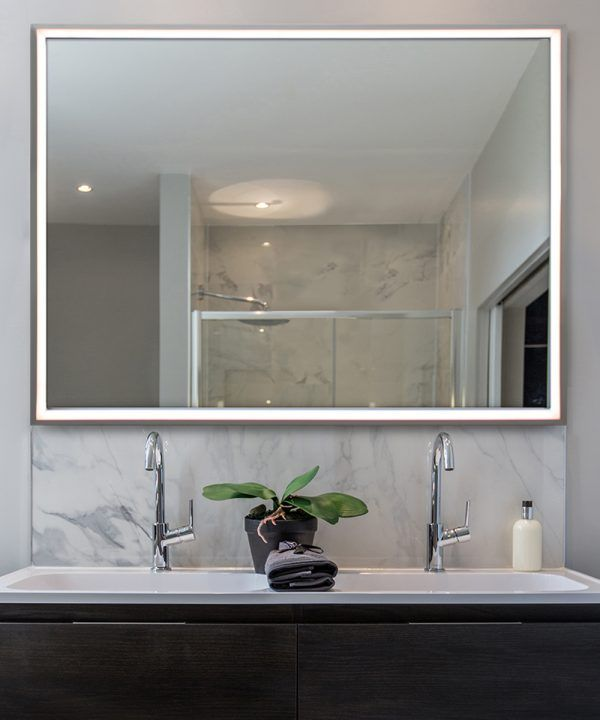 Radiance Led Lighted Mirror By Electric Mirror Led Mirror Bathroom Electric Mirror Mirror With Lights