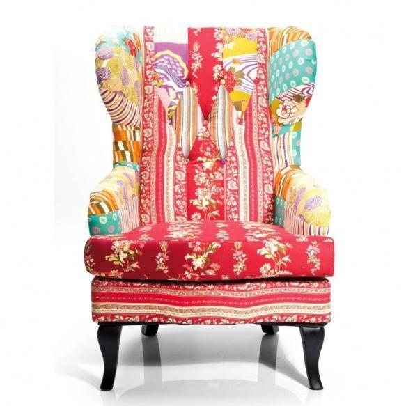 die besten 25 ohrensessel patchwork ideen auf pinterest patchwork sofa collins m bel und. Black Bedroom Furniture Sets. Home Design Ideas