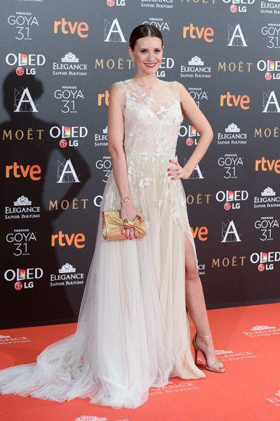 Elena Ballesteros attends Goya Cinema Awards 2017 at Madrid Marriott Auditorium on February 4, 2017 in Madrid, Spain.