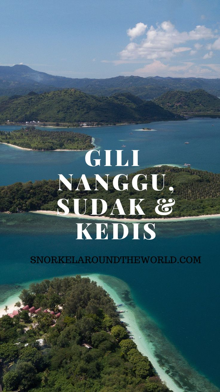 Gili Nanggu, Sudak and Kedis island hopping
