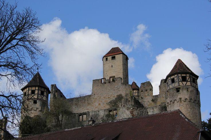 Burg Hornberg ( Götzenburg) Götz von Berlichingen von Michael Borst