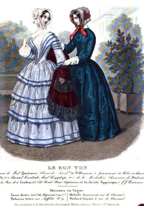 Le Bon Ton (Published in the Lady's Magazine), 1849.