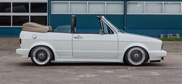 Kennzeichen PG: Diesem VW Golf Cabrio sieht man an, was drinsteckt! – Tuning