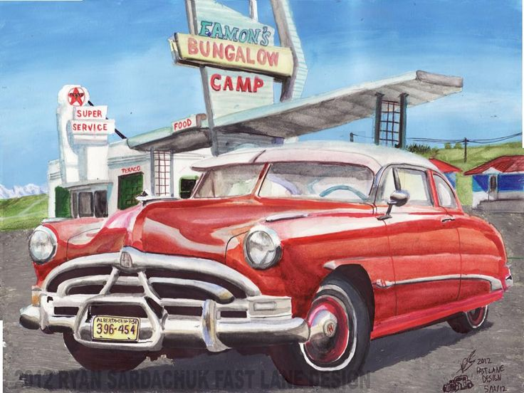 1951 hudson hornet at eamons camp