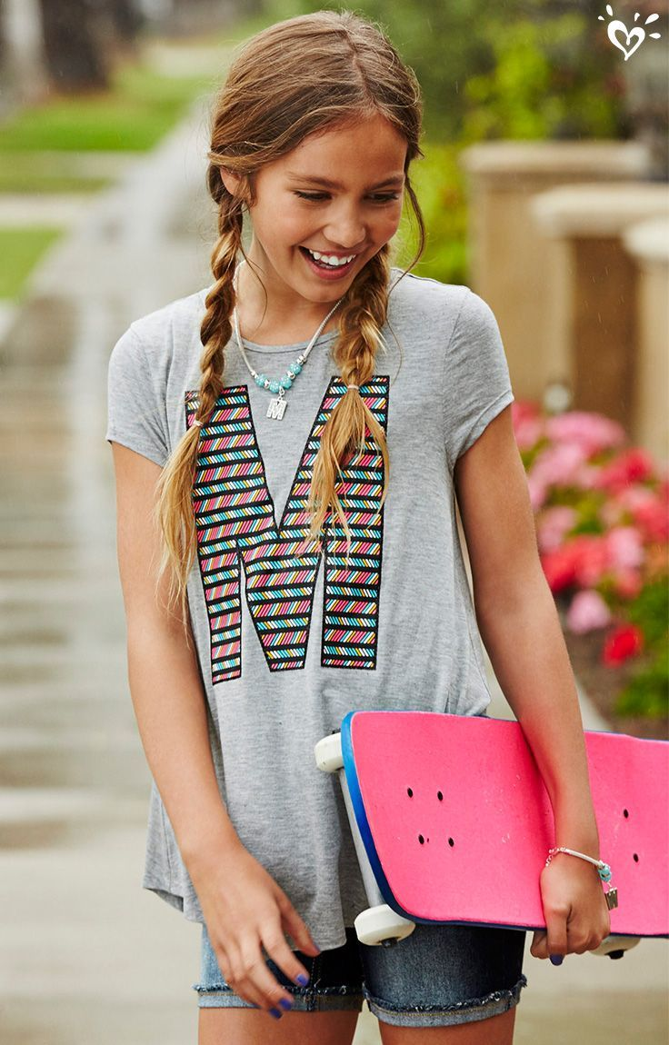 Tween fashion websites - Get On Board With Creating Cool Outfits With Our Awesome Initial Top Hint Start