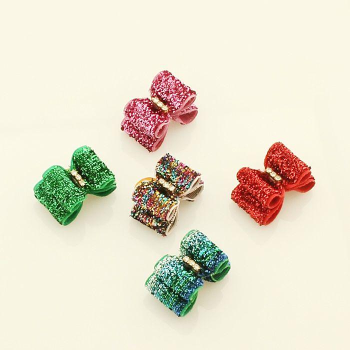 dog accessories for small dogs | Small dog accessories orange plastic pumpkin Ribbon Bow DB306. Dog ...