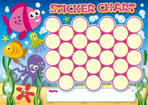 Selective image intended for free printable sticker charts