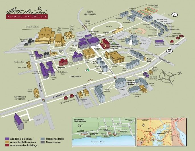 mcdaniel college campus map About Us Campus Map Washington College Campus Map Campus Map mcdaniel college campus map