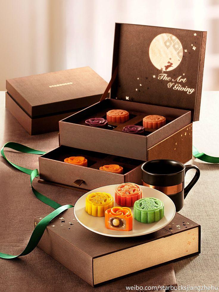 Starbucks Chocolate box packaging, Moon cake, Chocolate