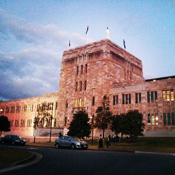 The University of Queensland in St Lucia, QLD