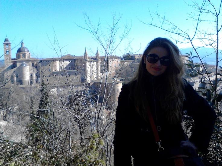 Urbino's amazing view, Italy, 2013