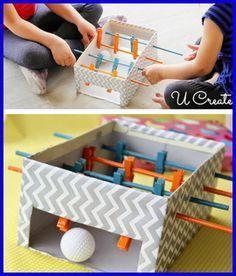 12 Indoor Kids Games DIY | Small Town DIY