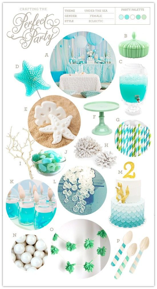 Party Inspiration: Under the Sea #Party Ideas