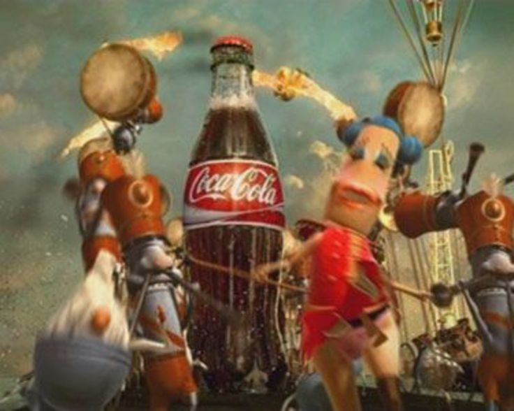 """Read more: https://www.luerzersarchive.com/en/magazine/commercial-detail/coca-cola-36360.html Coca-Cola Coca-Cola """"Happiness Factory"""" (01:00) # A coin dropped into a vending machine sets in motion a series of bizarre and fantastical operations inside the device, ultimately leading to the production of a bottle of Coke. For more on Coke's latest advertising, please turn to this issue's feature. Tags: Wieden + Kennedy, Amsterdam,Coca-Cola,Rick Condos,Psyop, New York,Hunter Hindman,Todd…"""