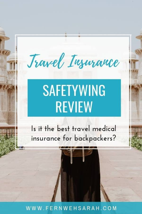 Finding The Best Travel Insurance For Backpackers And Nomads