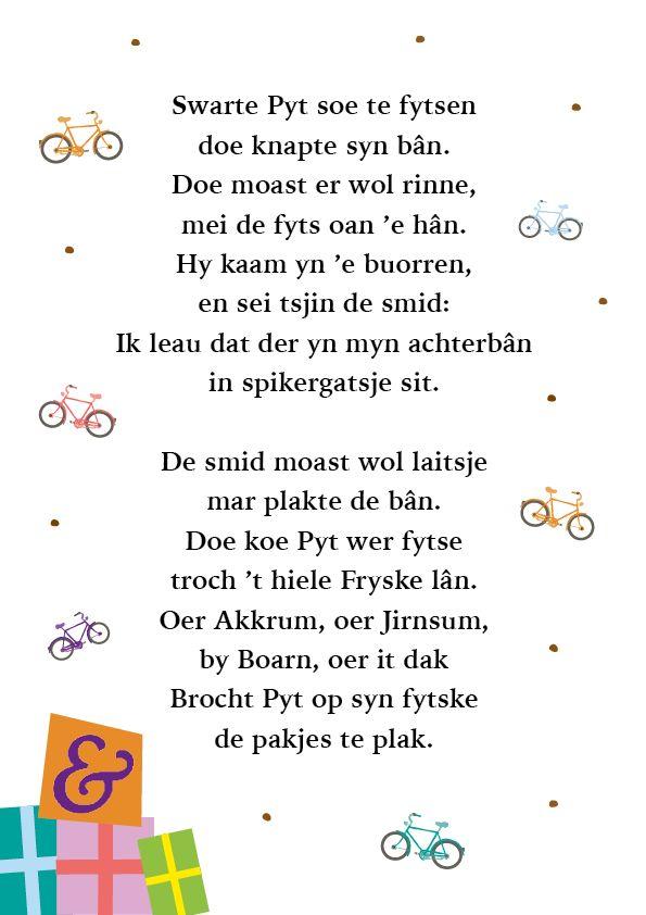 Pin By Heit Amp Mem On Gedichtsjes En Ferskes Bern Friese