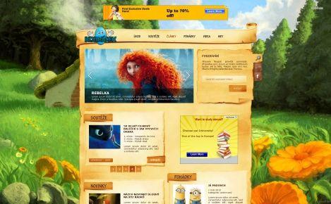 Koukálek - design pro děti, pohádky