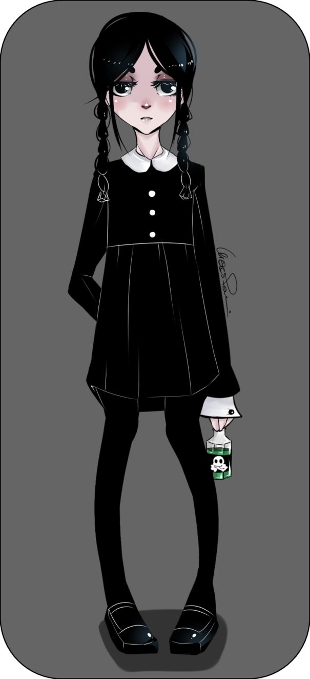 Wednesday Addams by poliip on deviantART