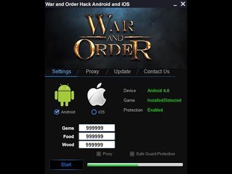 APK Download] War and Order Hack - Get 9999999 Gems, Food