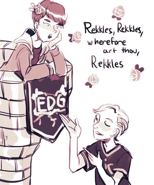 Rekkles and Deft
