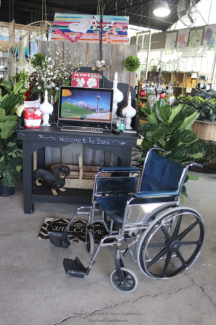 Handicap accessible at The Barn Nursery, Chattanooga, TN ...