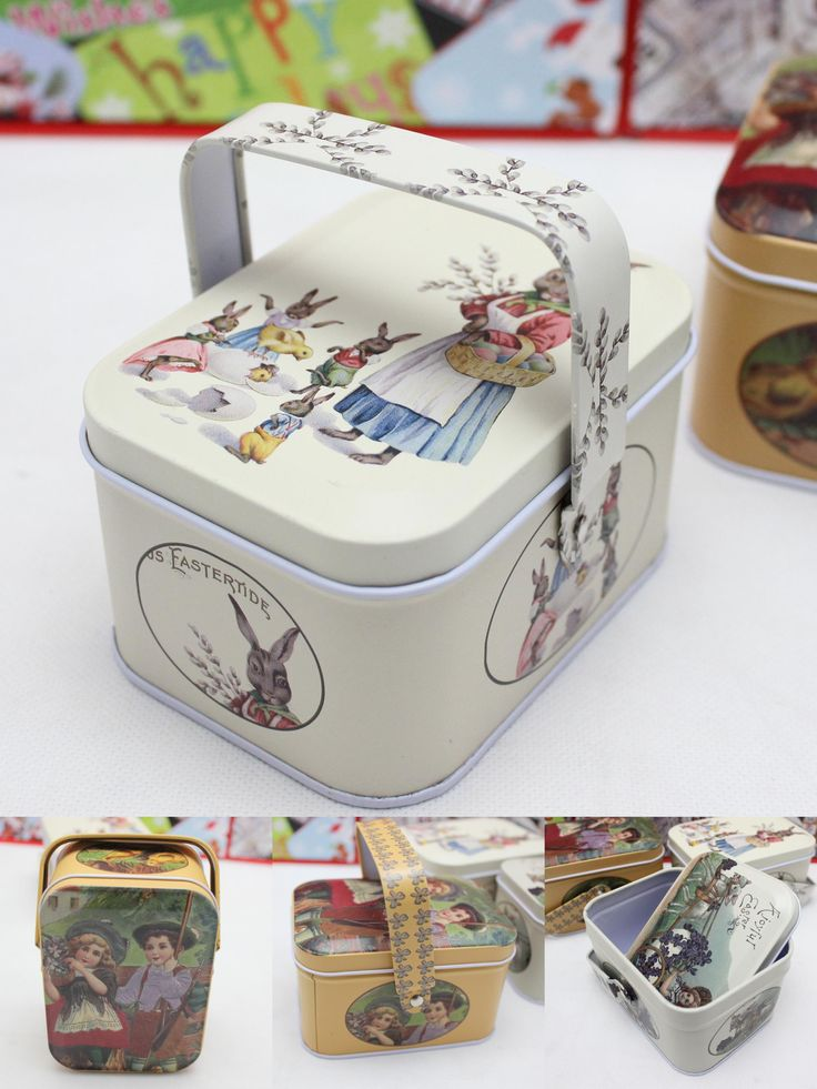 [Visit to Buy] New arrival vintage small suitcase storage tin candy box change box earphones box small suitcase #Advertisement