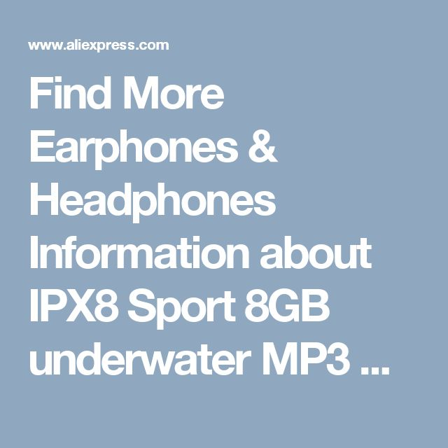 Find More Earphones & Headphones Information about IPX8 Sport 8GB underwater MP3 music player Waterproof mp3 player with FM Radio Stereo Earphone Audio Headset for Swimming Diving,High Quality player waterproof,China sport player Suppliers, Cheap earphone mp3 music player from Outdoor--Poem & Distance on Aliexpress.com
