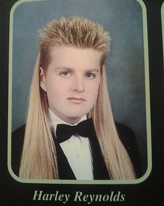 35 Best Mullets to Consider for Your Next Haircut-this might be the best thing I've ever seen.
