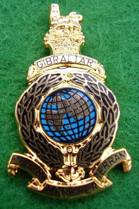Royal Marines Commando/SBS Famous Green Beret/Cap Badge